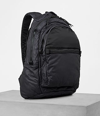 Mens Shoto Rucksack (WASHED INK/ BLACK) - product_image_alt_text_3