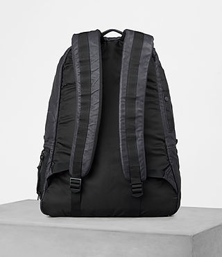 Mens Shoto Rucksack (WASHED INK/ BLACK) - product_image_alt_text_4