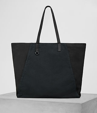 Herren Aichi Leather Tote (Washed Ink)