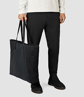 Herren Aichi Leather Tote (Washed Ink) - product_image_alt_text_2