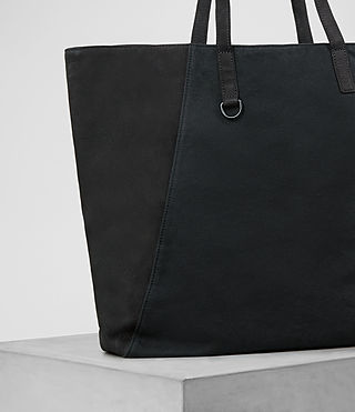 Herren Aichi Leather Tote (Washed Ink) - product_image_alt_text_3