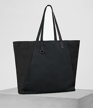 Herren Aichi Leather Tote (Washed Ink) - product_image_alt_text_4