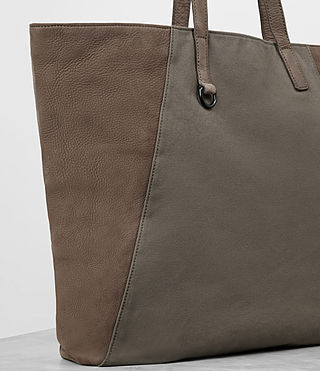 Mens Aichi Tote Bag (Washed Taupe) - product_image_alt_text_3
