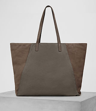 Mens Aichi Tote Bag (Washed Taupe) - product_image_alt_text_6