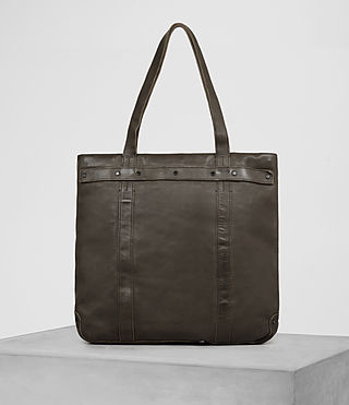 Hombre Storm Leather Tote (Washed Bitter) - product_image_alt_text_1