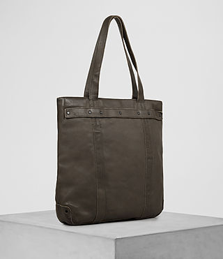 Hombre Storm Leather Tote (Washed Bitter) - product_image_alt_text_3