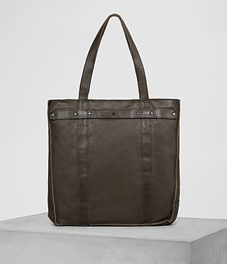 Hombre Storm Leather Tote (Washed Bitter) - product_image_alt_text_5