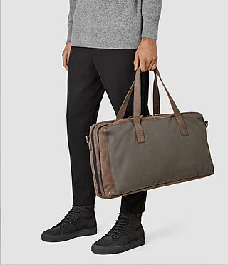 Mens Aichi Holdall (Washed Taupe) - product_image_alt_text_2