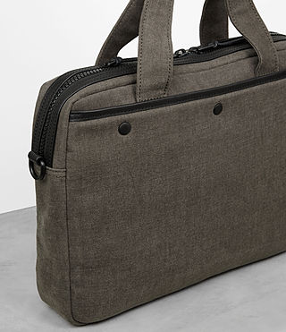 Men's Minato Work Bag (Khaki Green) - product_image_alt_text_2