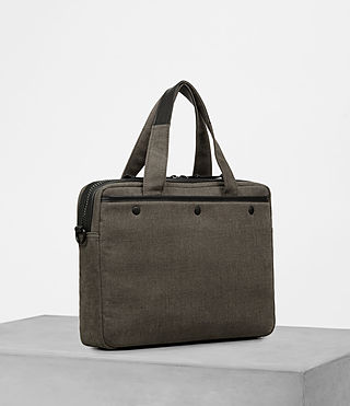 Men's Minato Work Bag (Khaki Green) - product_image_alt_text_3