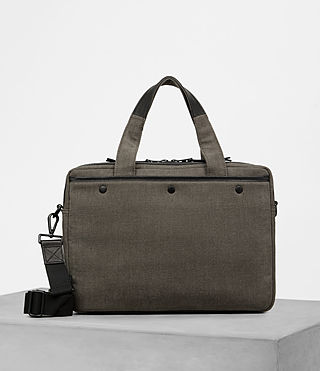 Men's Minato Work Bag (Khaki Green) - product_image_alt_text_4
