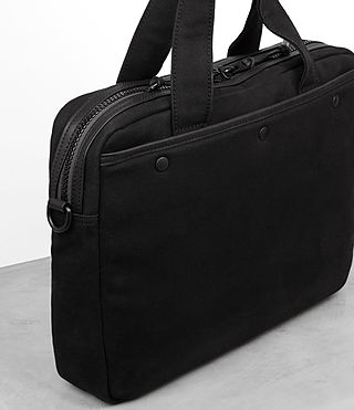 Hombre Minato Work Bag (Black) - product_image_alt_text_2