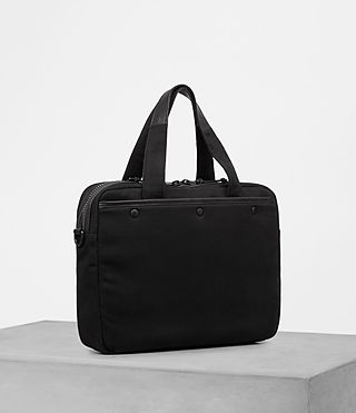 Hombre Minato Work Bag (Black) - product_image_alt_text_3