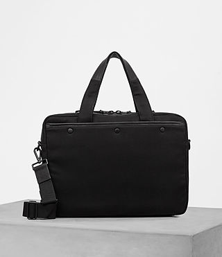 Hombre Minato Work Bag (Black) - product_image_alt_text_4
