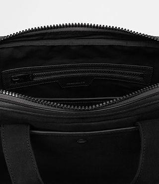 Hombre Minato Work Bag (Black) - product_image_alt_text_5