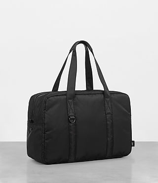 Mens Ridge Holdall (Black) - Image 5