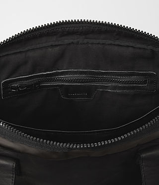 Mens Shoto Work Bag (Washed Black/Khaki) - product_image_alt_text_4