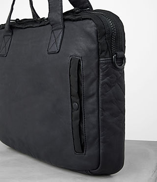 Hommes Cartable Shoto (WASHED INK/ BLACK) - product_image_alt_text_2