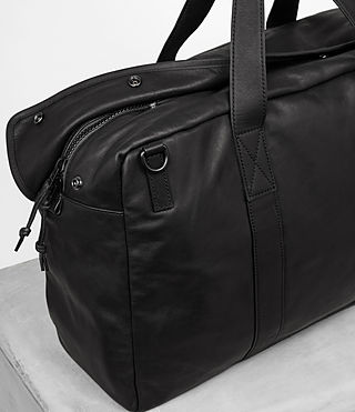 Hombres Kanji Holdall (Black) - product_image_alt_text_2