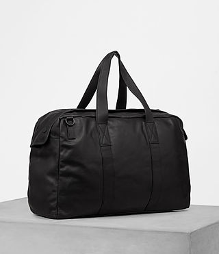 Hombres Kanji Holdall (Black) - product_image_alt_text_3