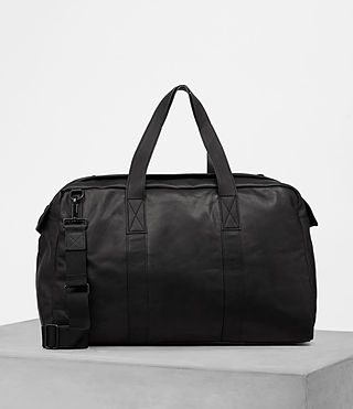 Hombres Kanji Holdall (Black) - product_image_alt_text_4