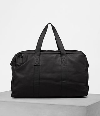 Hombres Kanji Holdall (Black) - product_image_alt_text_5