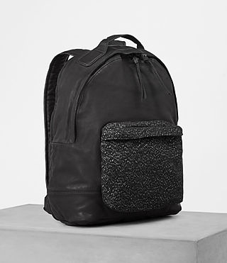 Hommes Hoshi Rucksack (Washed Black) - product_image_alt_text_3