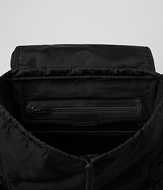 Mens Nakano Rucksack (Washed Black) - product_image_alt_text_5