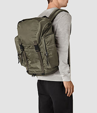 Men's Nakano Rucksack (WSH LT KHAKI GREEN) - product_image_alt_text_2