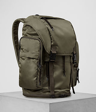 Men's Nakano Rucksack (WSH LT KHAKI GREEN) - product_image_alt_text_4