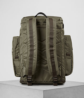 Men's Nakano Rucksack (WSH LT KHAKI GREEN) - product_image_alt_text_6