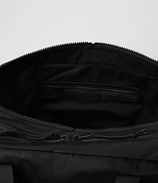 Mens Nakano Holdall Bag (Washed Black) - product_image_alt_text_5