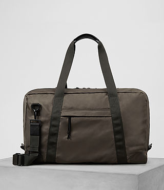 Hombre Nakano Holdall Bag (WASHED KHAKI TAUPE) - product_image_alt_text_1