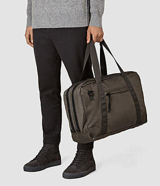 Hombre Nakano Holdall Bag (WASHED KHAKI TAUPE) - product_image_alt_text_2