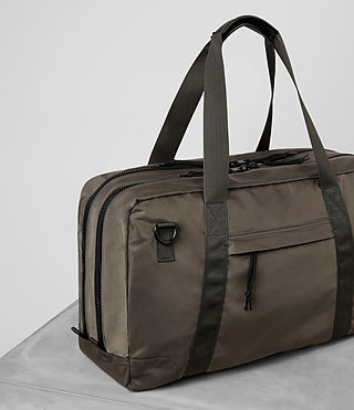 Hombre Nakano Holdall Bag (WASHED KHAKI TAUPE) - product_image_alt_text_3