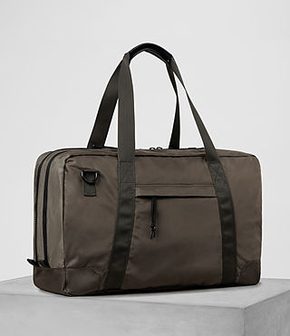 Hombre Nakano Holdall Bag (WASHED KHAKI TAUPE) - product_image_alt_text_4