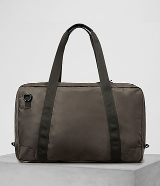 Hombre Nakano Holdall Bag (WASHED KHAKI TAUPE) - product_image_alt_text_6