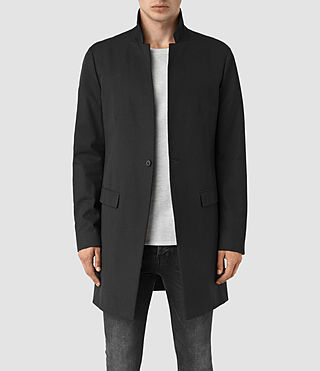 Hommes Hatton Coat (Black)