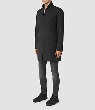 Men's Hatton Coat (Black) - product_image_alt_text_2