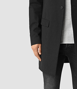 Men's Hatton Coat (Black) - product_image_alt_text_3
