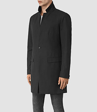 Men's Hatton Coat (Black) - product_image_alt_text_4