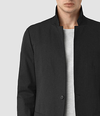 Men's Hatton Coat (Black) - product_image_alt_text_5