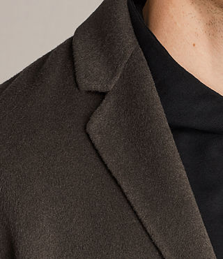 Uomo Cappotto Foley (Khaki Green) - product_image_alt_text_2