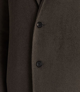 Uomo Cappotto Foley (Khaki Green) - product_image_alt_text_3