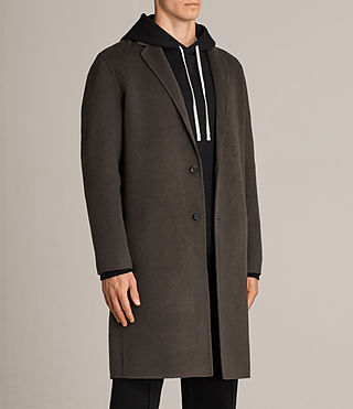 Uomo Cappotto Foley (Khaki Green) - product_image_alt_text_4