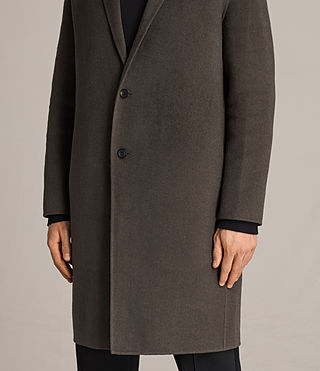 Uomo Cappotto Foley (Khaki Green) - product_image_alt_text_5