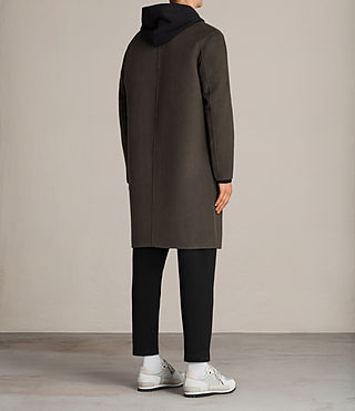 Uomo Cappotto Foley (Khaki Green) - product_image_alt_text_7