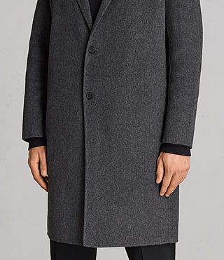Mens Foley Coat (Charcoal Grey) - product_image_alt_text_6