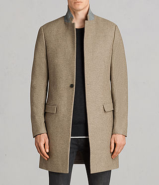 Mens Denton Coat (MUSHROOM BROWN) - product_image_alt_text_1