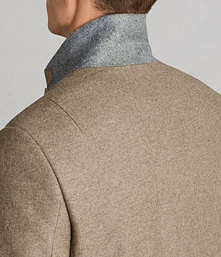 Mens Denton Coat (MUSHROOM BROWN) - product_image_alt_text_2